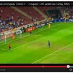 Video – Spopola il rigore di Pogba contro l'Uruguay: ma che rincorsa ha fatto?!
