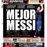 El Mundo Deportivo: il Miglior Messi