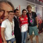 Juventus, giornata di relax per Llorente, Tevez e Giovinco: a Monza con Alonso