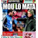 El Mundo Deportivo: Mou lo Mata