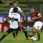 Serie A, Parma-Roma 1-3: rimonta giallorossa firmata da Florenzi, Totti e Strootman – Video