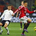 Milan-Lazio 3-1 la moviola: Dias rifila un pugno a Van Bommel, sarà prova tv