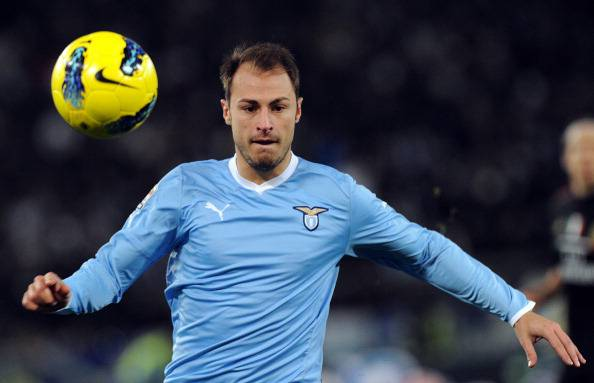 Lazio's Romanian defender Stefan Radu co