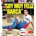 El Mundo Deportivo: Fabregas è molto felice nel Barcellona