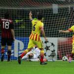 Video – Champions League, Milan-Barcellona 1-1: Messi risponde a Robinho