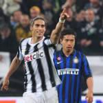 Juventus-Inter 2-0: furia bianconera, Caceres e Del Piero stendono i nerazzurri