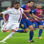 Barcellona-Milan, Nesta-Mexes coppia centrale e Cuenca al posto di Sanchez