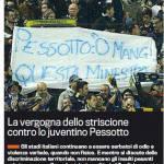 Parma-Juventus: al Tardini lo striscione della vergogna contro Pessotto