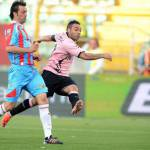 Palermo-Catania 1-1 e Cagliari-Chievo 0-0, Miccoli pari nel