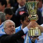 Napoli, De Laurentiis risponde al procuratore di Cannavaro: ha preso seriamente battute fatte in un momento goliardico