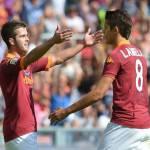 Roma-Juventus 1-0, Tabellino e Pagelle