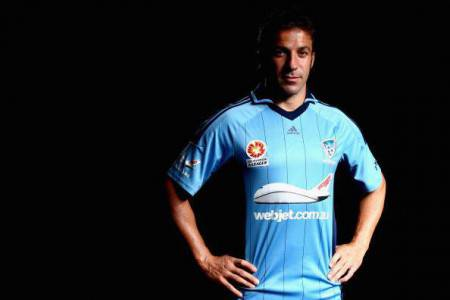 Alessandro Del Piero Portrait Shoot