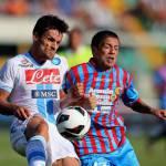 Calciomercato Napoli, scambio Vargas-Gomez con il Catania?
