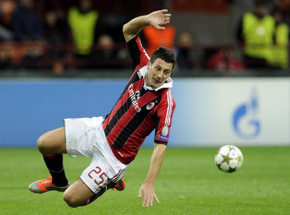 AC Milan v Malaga CF - UEFA Champions League