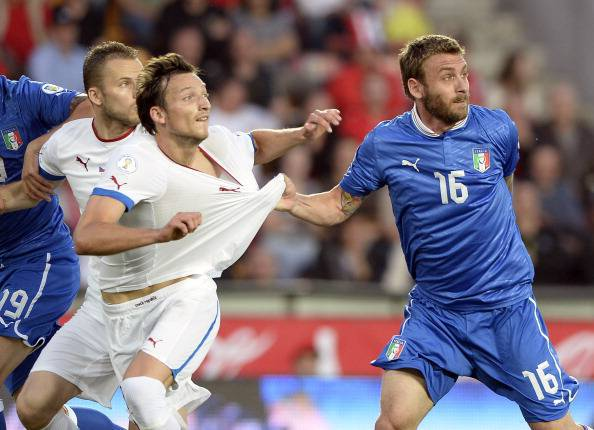 Czech Republic v Italy - FIFA 2014 World Cup Qualifier