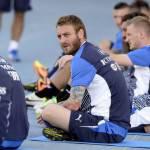 Confederations Cup, De Rossi, in Brasile è polemica per il tatuaggio che raffigura un tackle
