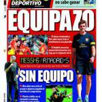 El Mundo Deportivo: Barcellona Equipazo, Real Madrid Sin Equipo