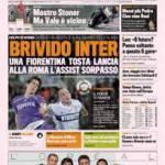 Gazzetta dello Sport: Brivido Inter