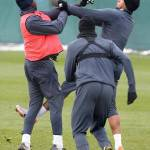 Premier League, City, lite tra Balotelli e Boateng – Foto