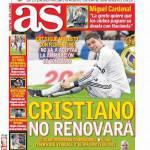As: Cristiano Ronaldo non rinnova
