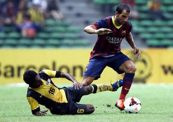 FC Barcelona v Malaysia XI
