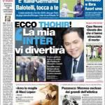 """Corriere dello Sport, ecco Thohir: """"La mia Inter vi divertirà"""""""