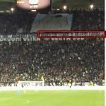 Juventus-Napoli, striscione shock della Juve contro i napoletani