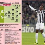 Foto – Juventus-Udinese, probabili formazioni della gara: ritorna la difesa titolare juventina; nuovo modulo Udinese