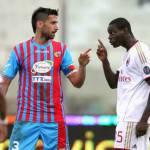 """Catania-Milan, Spolli contro Balotelli: l'argentino avrebbe detto """"Negro di m***a"""" a SuperMario"""