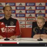 VIDEO – L'Ajax realizza il sogno di Jay Jay, bambino malato… campione per un giorno