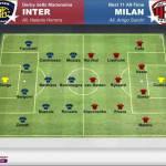 Foto – Inter-Milan, ecco il derby della storia meneghina: le best 11 di tutti i tempi a confronto