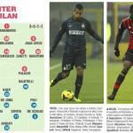 FOTO – Inter-Milan, probabili formazioni: 3-5-1-1 per Mazzarri. Allegri sceglie il 4-3-1-2 con Balo-Matri davanti
