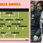Juventus, infortunio di Pirlo: ecco come Conte disporrà la squadra in campo