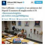 Foto – UFFICIALE: Jorginho è un nuovo giocatore del Napoli!