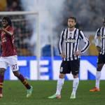 Roma-Juventus, voti e tabellino della gara