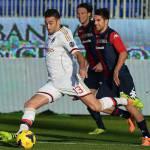 Cagliari-Milan 1-2: voti e tabellino dell'incontro di serie A