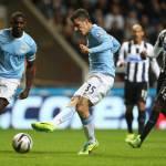 Manchester City, i tifosi prendono in giro Jovetic: ora è un wrestler o un attore