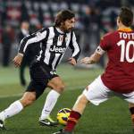 Juventus-Roma, testa a testa tra Pirlo e Totti: due veterani a lunga conservazione