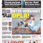 Gazzetta dello Sport – Inter-Hernanes, oplà
