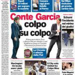 Corriere dello Sport: Conte-Garcia, colpo su colpo
