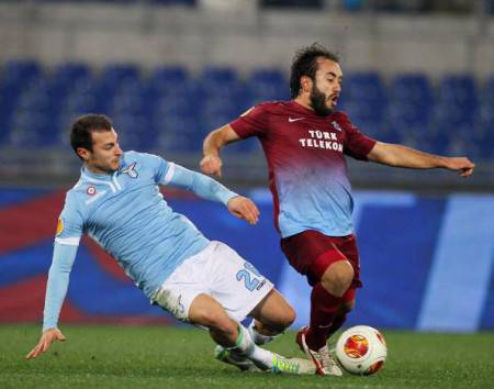 SS Lazio v AS Trabzonspor - UEFA Europa League