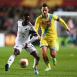 Swansea-Napoli, voti e tabellino del match di Europa League