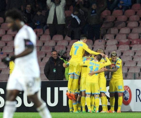 SSC Napoli v Swansea City - UEFA Europa League Round of 32