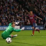 Manchester City-Barcellona 0-2, il tabellino e i voti della gara