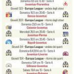 Foto – Juventus, un tour de force incredibile da qui a fine stagione: ecco tutte le gare
