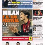 Gazzetta dello Sport: Milan, è il tuo festival