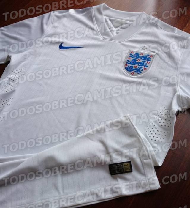 foto la nuova maglia per l 39 inghilterra per il mondiale