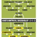 Foto – Mazzarri pronto a cinque cambi, così vuole far ripartire l'Inter!