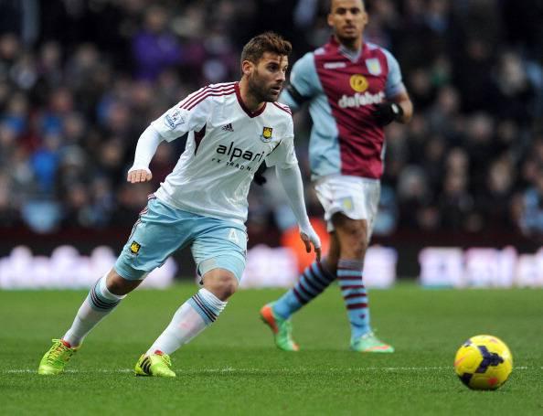 Aston Villa v West Ham United - Barclays Premier League