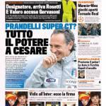Gazzetta dello Sport – Prandelli super ct? Tutto il potere a Cesare